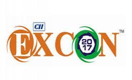 CII EXCON 2017 Trade Fair From 12-16 December 2017 in India
